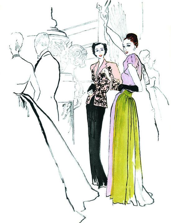 Fashion Illustration....Lovely!