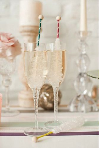 Rock Candy Twizzle Stick Champagne