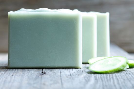 Cucumber Melon Soap Handmade Soap by ComfortandJoySoapCo on Etsy, $6.00