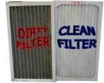 Dirty and Clean AC Filter