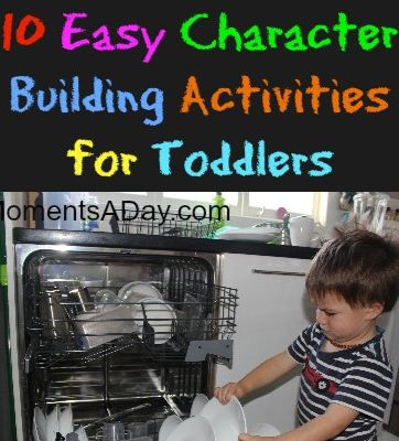 building character toddler activities