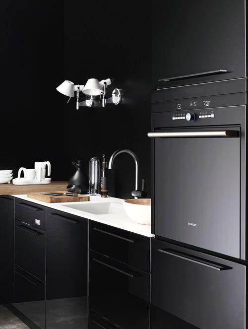 black #kitchen designs #kitchen design ideas #kitchen decorating before and after #kitchen interior