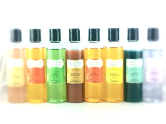 Body Wash / Shower Gel  Set of 10  Pick Your by SymbolicImports, $80.00