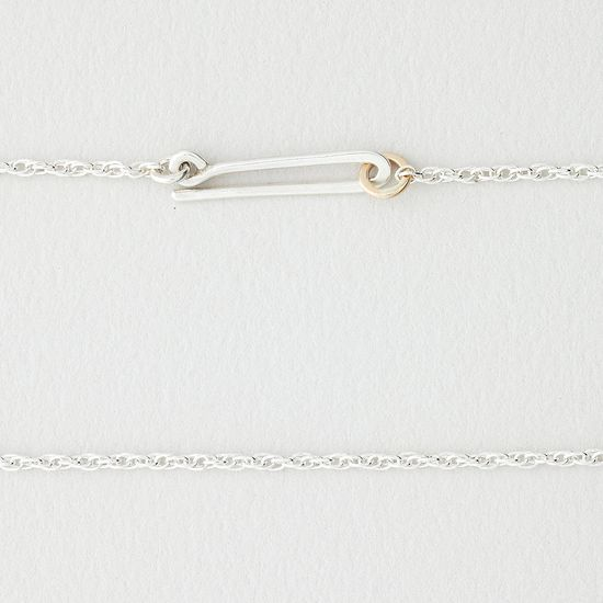 Lila Rice Arc Necklace