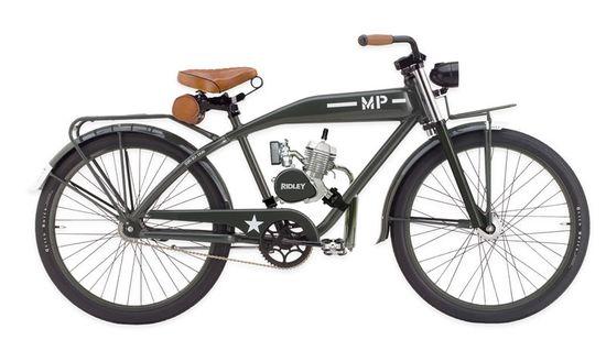 Ridley Vintage Motorbikes - Pipeburn - Purveyors of Classic Motorcycles, Cafe Racers & Custom motorbikes