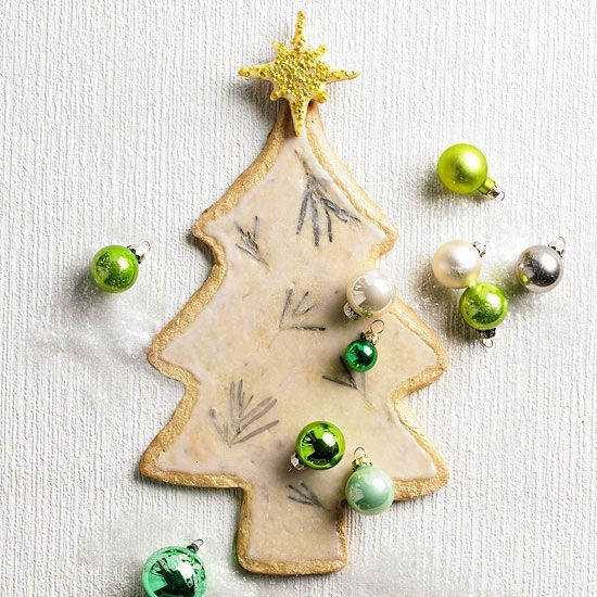 Give our Rosemary-Scented Evergreen Cookies a try this season! More #recipes from our #December issue: www.bhg.com/...