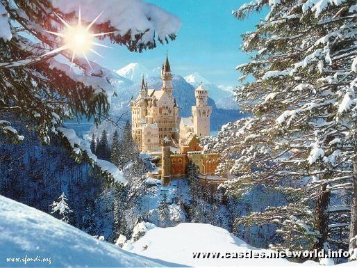 Nueschwanstein Castle, Bavaria- Southern Germany