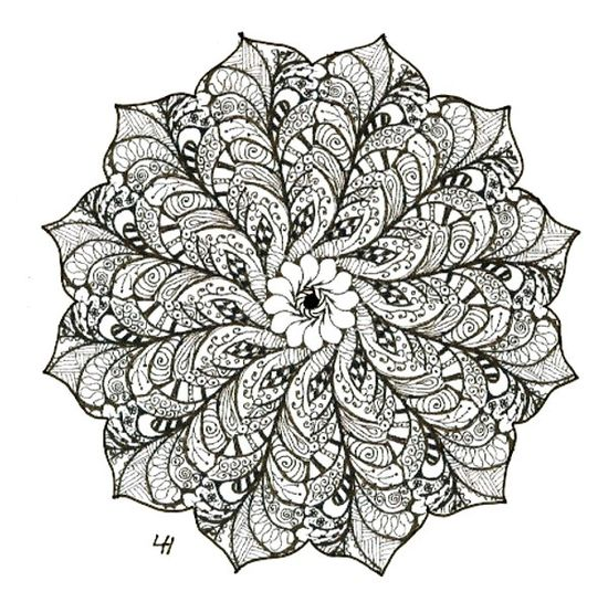zen art printable coloring pages - photo #5