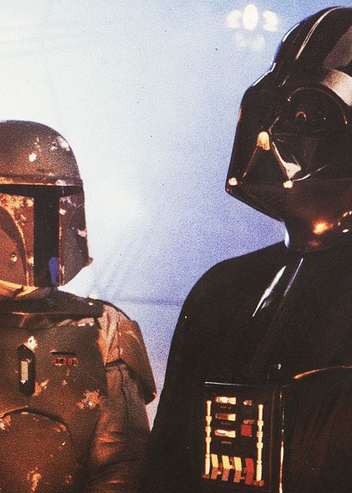 Darth Vader and Bobba Fett