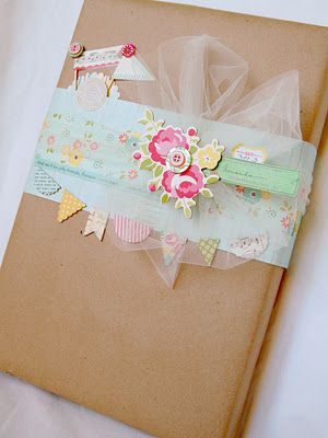 Pretty wrapping.