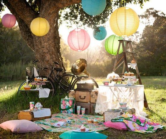 pretty boho Summer #prepare for picnic #company picnic