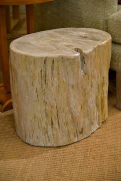 Sala polished #petrified #tree #stump - available at #Houston #Mecox #interiordesign #mecoxgardens #furniture #shopping #home #decor #design #room #designidea #vintage #antiques #garden