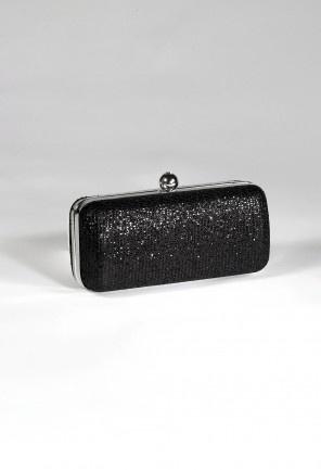 Handbags - Sparkle Fabric Box Handbag from Camille La Vie and Group USA
