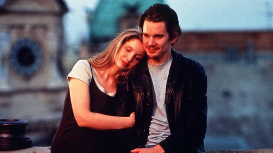 """Before Sunrise"" (1995). Candidate for most romantic movie ever made."