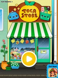 Beyond the Dryer Vent: iPad App Review: Toca Boca Store & Social Skills for
