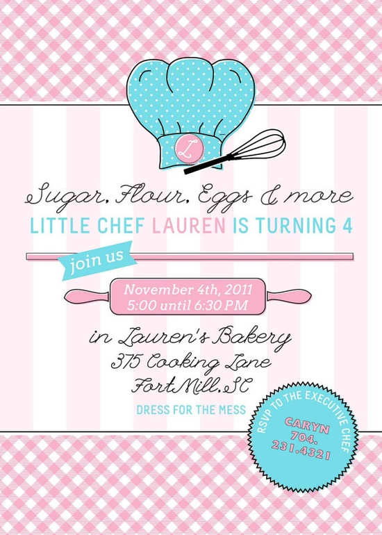 Baking Party eggs flour and sugar make cake!  Come celebrate Bri and Zoey turning 8!!!