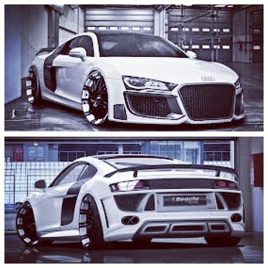Now this AudiR8 is something else! Out of this world!