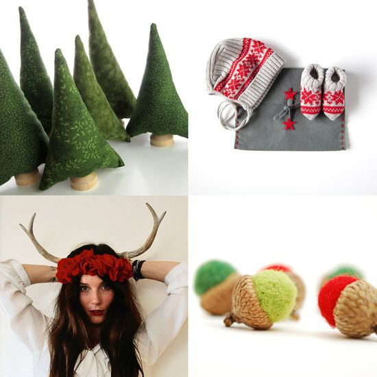 Rustic Chic Christmas Decor