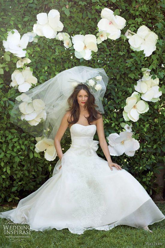 watters bridal spring 2012