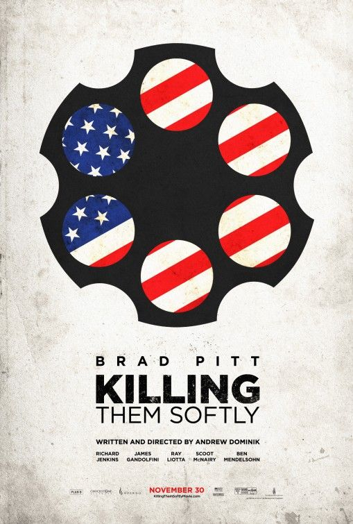 This awesomeness in Killing Them Softly posters is getting seriously good.  Another great version on the death of the American dream idea.