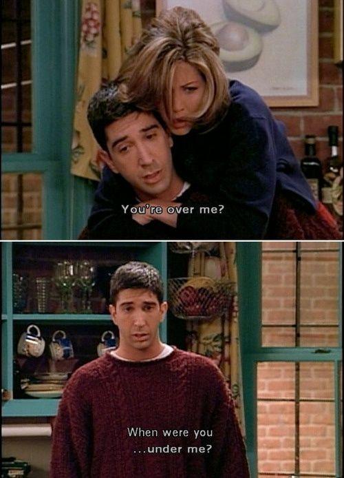 Gotta Love Ross & Rachel on Friends #best friend #best friend memories #best friend memory #friend