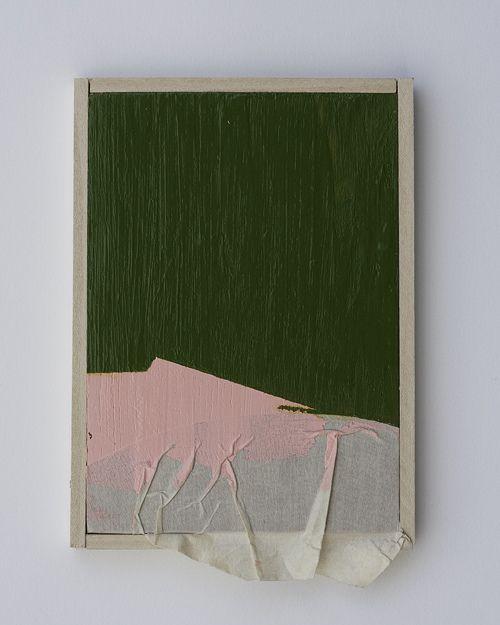 justyn hegreberg pink and green with masking tape three