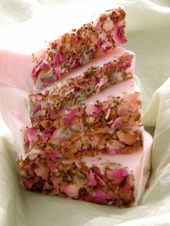 Rose petal handmade soap. Pretty pink wedding favor #pink #wedding #hues #favor ?? @WedFunApps wedfunapps.com ??'s