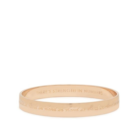 Kate Spade- Rose gold bangle