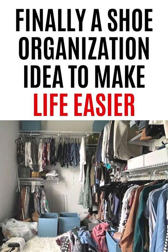 How to Organize Closet  Board