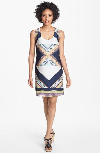 Collective Concepts Print Shift Dress available at #Nordstrom