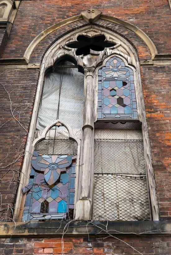 Abandoned church in Cincinnati, Ohio