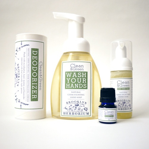 Brooklyn Herborium Clean & Green collection