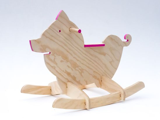 Rocking animals - Children's wooden toys perfect for birthdays and Christmas