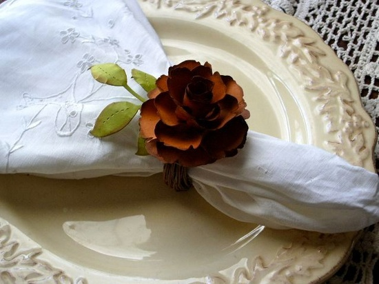 For the Love of Paper...: Autumn Collection - Handmade Paper Flowers