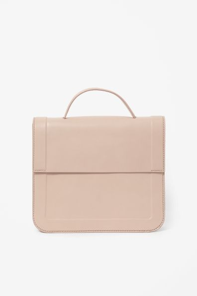 Embossed leather bag – cos