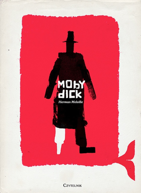 Emmanuel Polanco, Moby Dick (entry for the 50 Watts' Polish Book Cover Contest) by 50 Watts, via Flickr