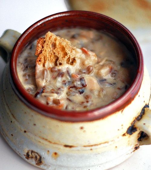 Chicken Bacon & Wild Rice Soup