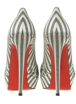Christian Louboutin- Black & White (and red)