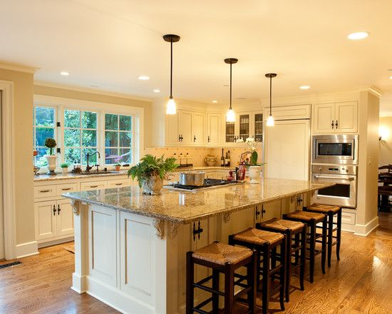 Home design photos island detail traditional kitchen for 11 x 8 kitchen designs