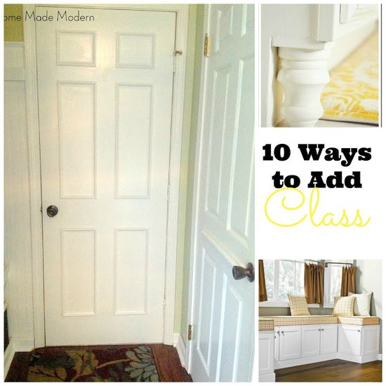 10 Ways to Add Class to a Builder-Grade Home