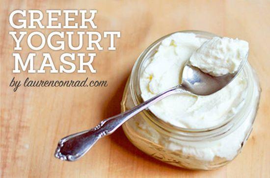 DIY Beauty: Greek Yogurt Mask