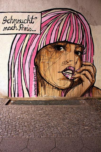 Street art by El Bocho