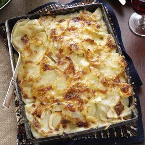 Parsnip Potato Gratin Recipe from Taste of Home