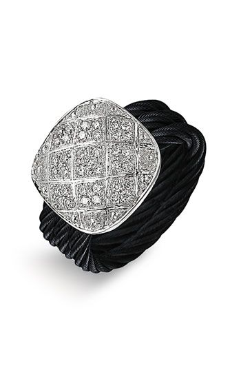 """Charriol """"Celtic Noir"""" Ring"""