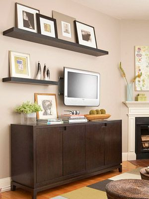 TV Console / Floating Shelves