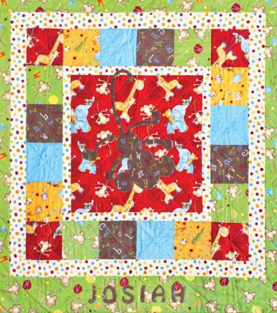 ABC pieced #quilt :) #babyshower