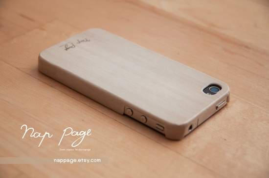 Apple iphone case for iphone iphone 3Gs iphone 4 iphone 4s iPhone 5 : Wood pattern( Not real wood ). $19.90, via Etsy.