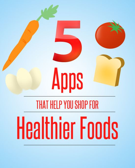 5 Apps That Help you Shop for Healthier Foods #1in10pcos