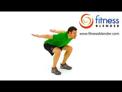 HIIT Cardio Workout - Tabata High Intensity Interval Training