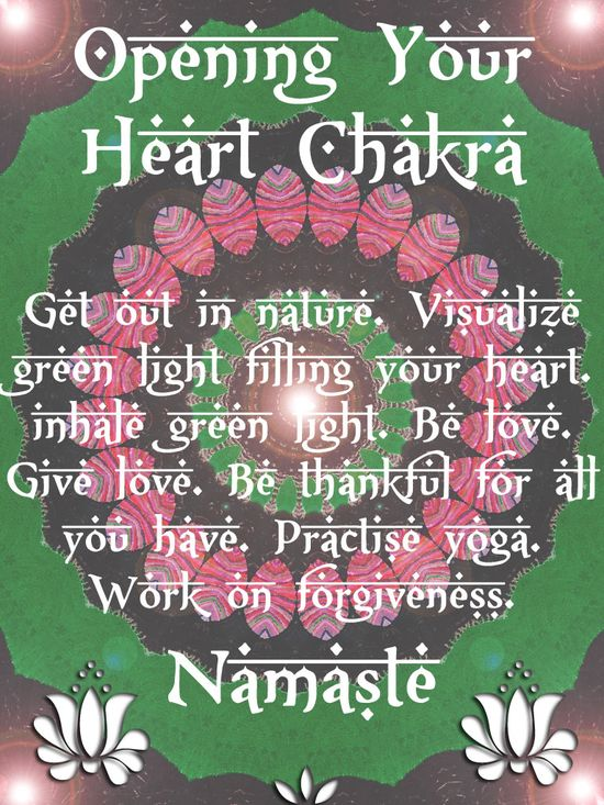 Opening Your Heart-Chakra